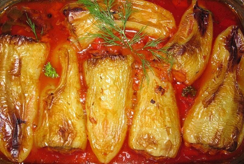 перец в духовке рецепты с фото печеный