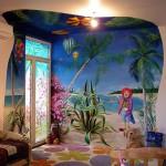 Правильная художественная роспись стен