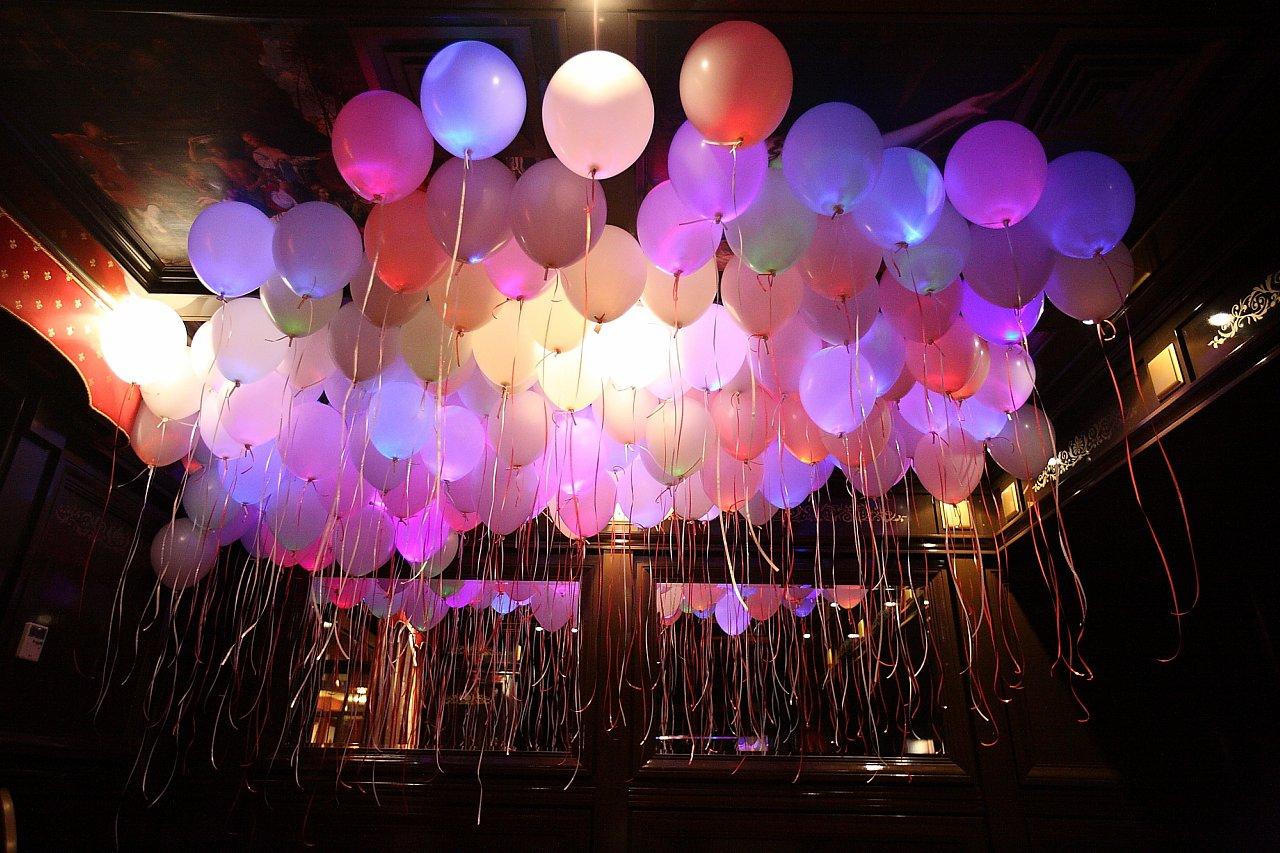 Светящиеся шары — украшение с изюминкой