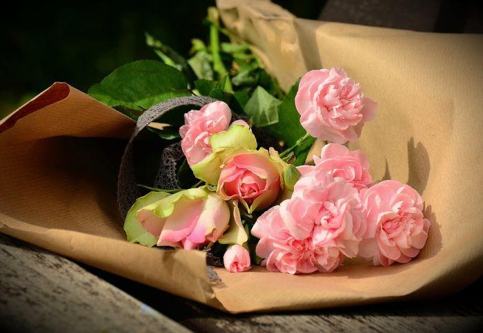 Доставка флористики для невесты